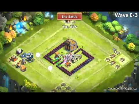 Castle Clash -Playing W/ Santa Boom 5/5 Life Drain