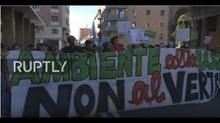 LIVE  Protesters march in Bologna against G7 environment ministers' meeting