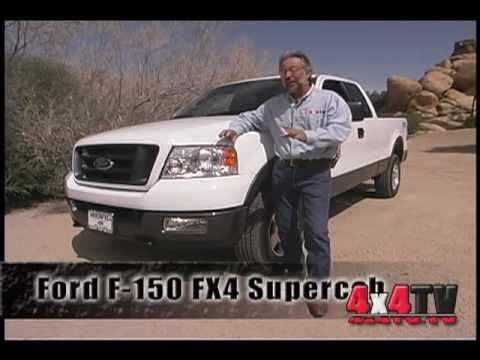 2004 ford f150 fx4 4x4 test 4x4tv test review videos. Black Bedroom Furniture Sets. Home Design Ideas