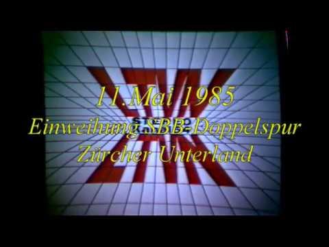 Hasli-TV 11.5.1985 Einweihung SBB-Doppelspur Züri-Unterland