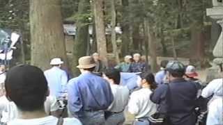 水戸黄門田鶴浜ロケ風景.