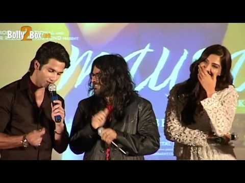 Shahid Kapoor sings Rabba from Mausam