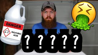 I Left 5 Things In Sulfuric Acid For 30 Days...