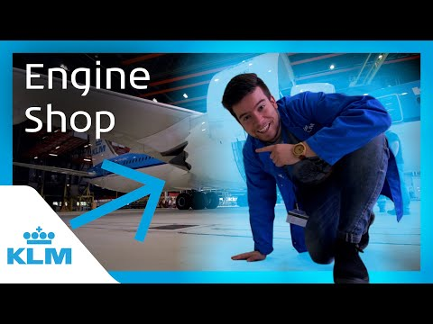 KLM Intern On A Mission - The Engine Shop