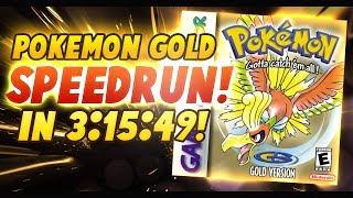 Pokemon Gold Speedrun in 3:15:49! (Current Personal Best)
