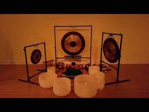 Kundalini Crystal Bowl and Gong Meditation