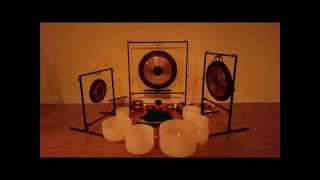 Kundalini Crystal Bowl and Gong Meditation