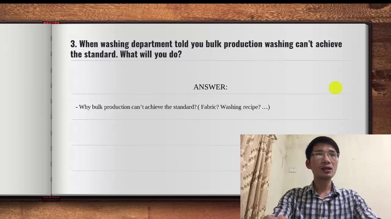Câu hỏi phỏng vấn tiếng Anh nhân viên quản lý đơn hàng ngành may và hướng dẫn trả lời