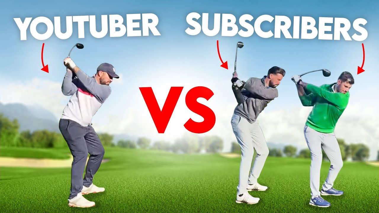 ME vs TWO SUBSCRIBERS (Golfbidder Challenge!)