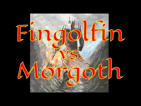 fingolfin-vs.-morgoth---el-silmarillion-en-español---capítulo-18---parte-2---la-caída-de-fingolfin