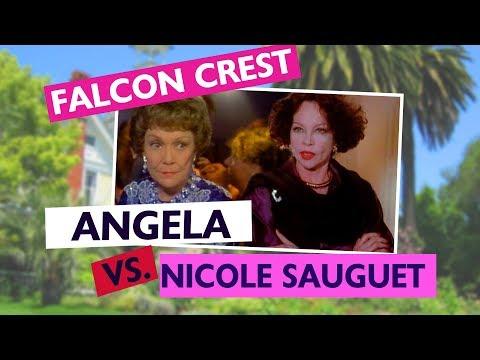 Falcon Crest: Angela vs. Nicole Sauguet