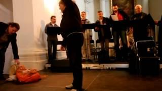 Kazania Świętokrzyskie - próba przed koncertem