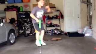The pogo stick challenge