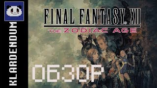 Краткий обзор: Final Fantasy XII The Zodiac Age