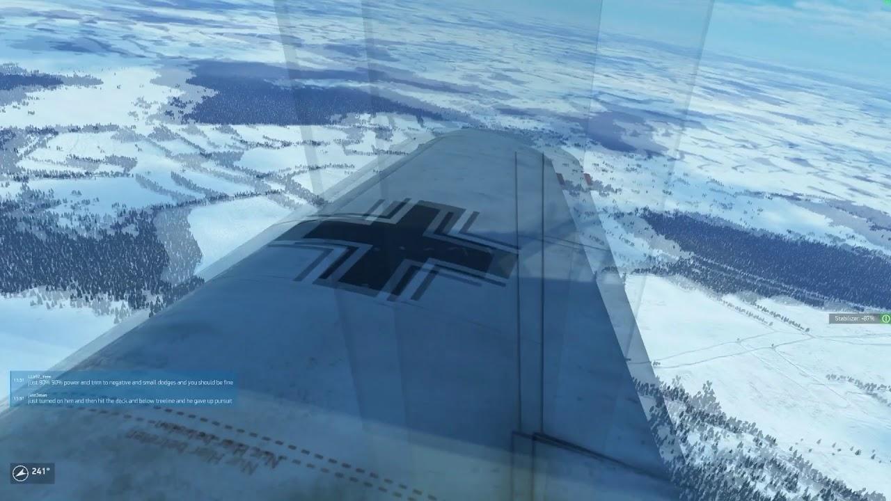 IL2-BoX Moscow Winter Train Run - Bf109-F2 - TAW Server