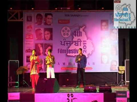 4th Punjabi Film Festival, Amritsar - performance of Gurmit Singh, Meenu Sharma, Rishabh Chaturvedi