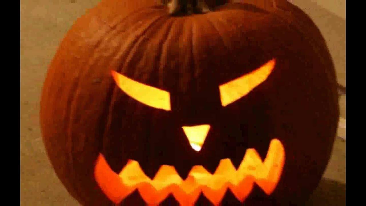 Creepy Halloween Jack o lantern images - YouTube