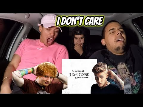 Ed Sheeran & Justin Bieber – I Don't Care   REACTION REVIEW