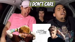 Baixar Ed Sheeran & Justin Bieber – I Don't Care (Official Audio) REACTION REVIEW