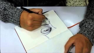 Trailer capitán américa dibujo con lapicero (CRISTIAN MONTENEGRO)