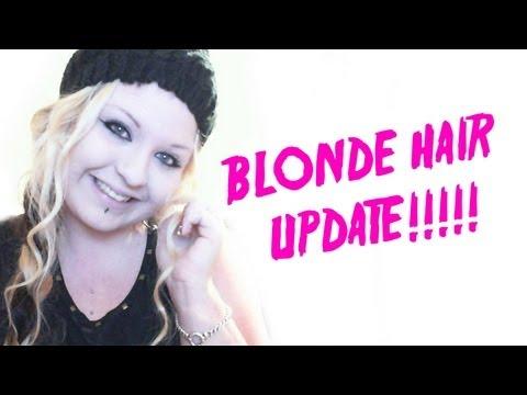 BLONDE HAIR UPDATE 2013