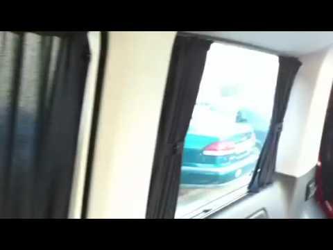 Vw t5 multivan startline gardinen curtains sonnenschutz   YouTube