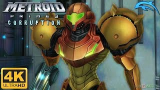 Metroid Prime 3: Corruption - Gameplay Wii 4K 2160p (Dolphin 5.0)
