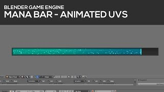 Mana-Bar and UV animation in Blender