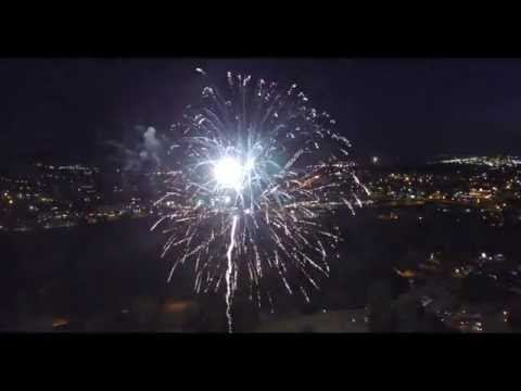 Alton Baker Park Fireworks - Eugene Oregon