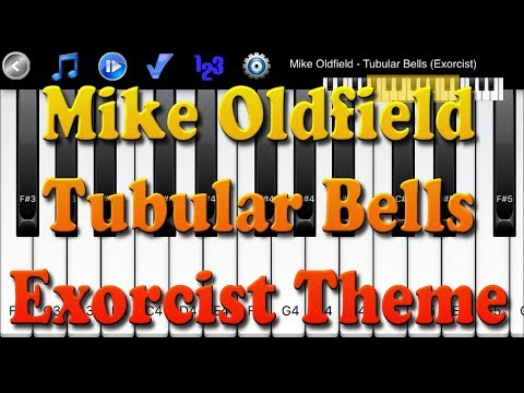 Mike Oldfield - Tubular Bells Exorcist - How to Play Piano Melody