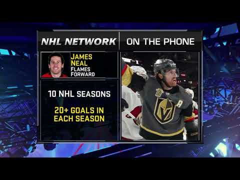 NHL Tonight:  James Neal:  on signing a five-year deal with Calgary  Jul 3,  2018
