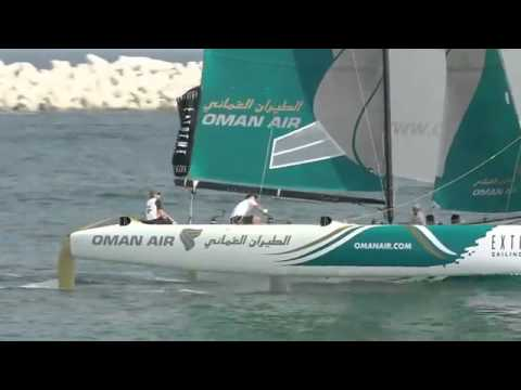 Morgan Larson Takes on the Extreme Sailing Series