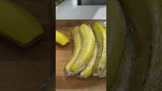 바나나보관방법/날파리없이 냉장고 보관하기/생활꿀팁