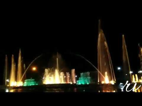 Jawahar Circle Jaipur Musical Fountain Timing.