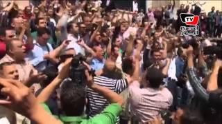 مظاهرة حاشدة أمام «النقابة» وسط هتاف «عاش نضال الصحفيين»