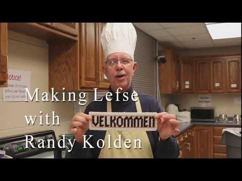 Randy Making Lefse