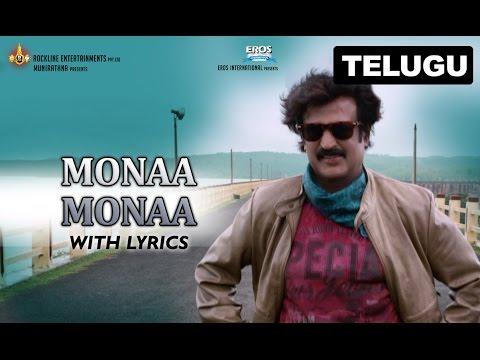 Monaa Monaa Full Song With Lyrics | Lingaa (Telugu)
