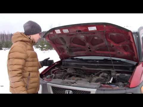 Тест-драйв Honda Element (Хонда Элемент)