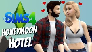 HONEYMOON HOTEL - The Sims 4 Funny Highlights #11