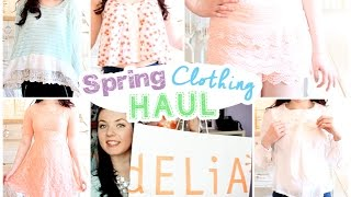 Spring Clothing Haul