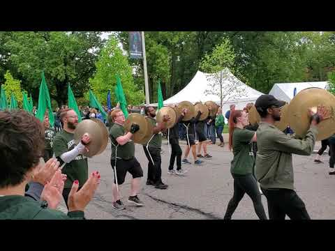 MSU Spartan Alumni Marching Band Homecoming  2019