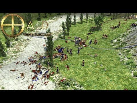 0 A.D. Alpha 18 - Persians vs Spartans