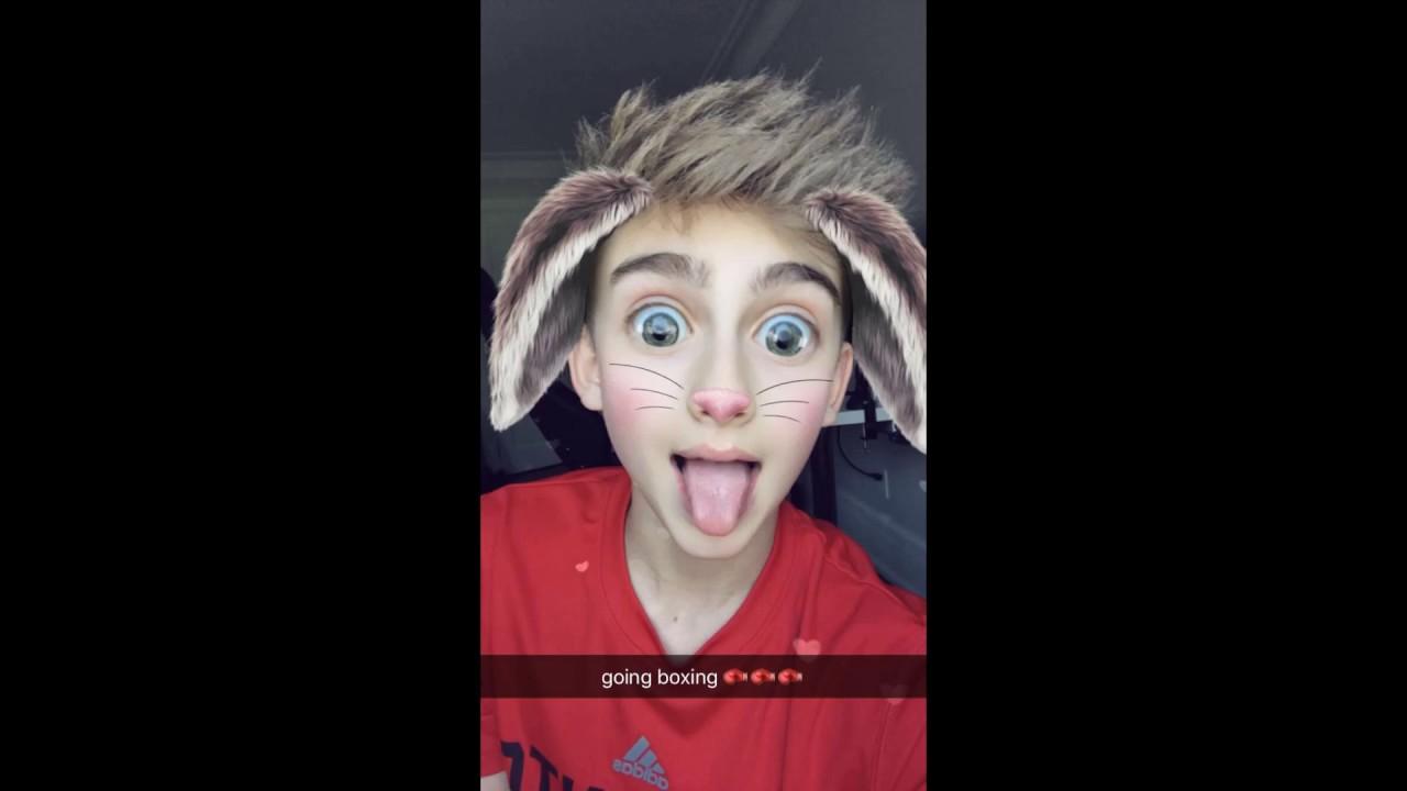 Johnny Orlando Snapchat
