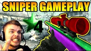 COD4 LIVE SNIPER #2 : R700 & M40A3 Gameplay   SkyRRoZ