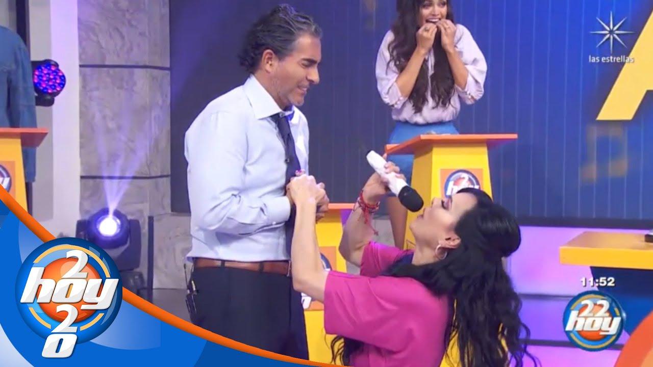 Maribel Guardia deja sin respiración a Raúl Araiza en Canta la palabra | Hoy