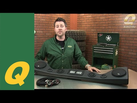 VDP Overhead Soundbar for Jeep Wrangler YJ and TJ YouTube