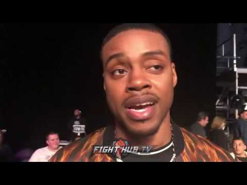 """ERROL SPENCE ON MIKEY GARCIA'S NEW BEEFED UP PHYSIQUE """"HE LOOKS FAT & SLOPPY"""""""