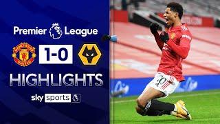 Rashford scores 93rd minute winner! | Man Utd 1-0 Wolves | EPL Highlights