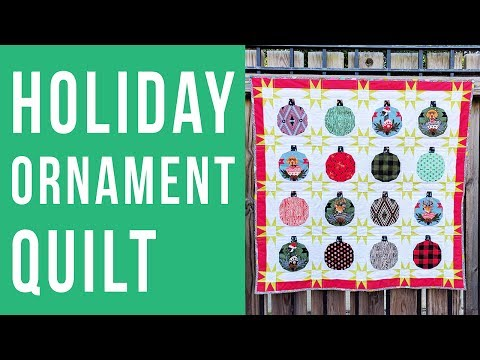 Holiday Ornament Quilt