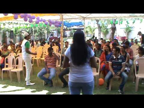 game Jockey Arun. Starting Games...Rocks...! Creative Event Organizers
